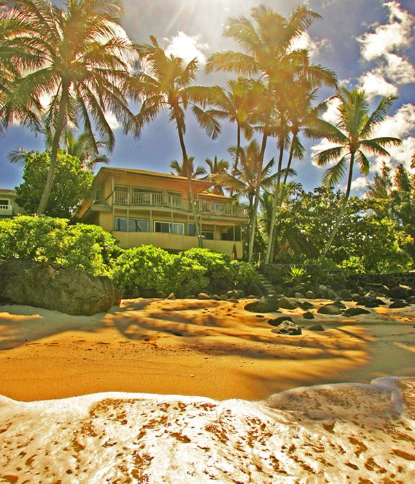 Spectacular Beachfront Property Haleiwa North Shore Oahu
