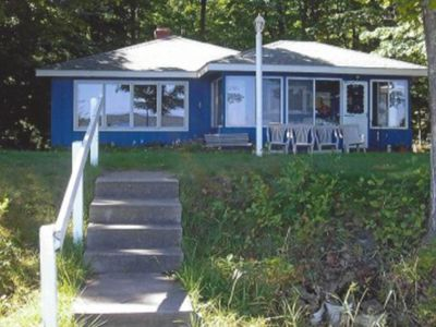 Photo for Beautiful home on Platte Lake w/ private dock & lake view - dogs welcome!