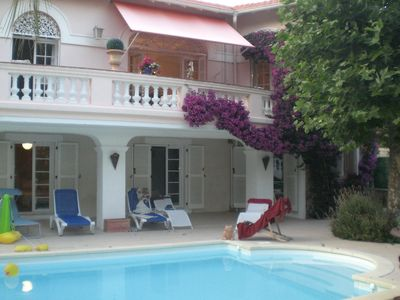 Photo for BEAUTIFUL AND SPACIOUS VILLA 16 PERS, DIRECT ACCESS TO THE BEACH ST RAPHAEL