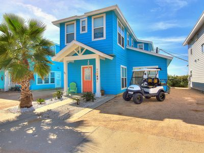 Photo for Casa Sol: Free Golf Cart, Close to Beach, Pool, Ocean Breezes, Two Masters