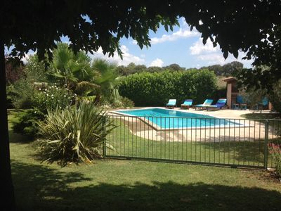 Photo for Beautiful villa with secure pool near Sommières