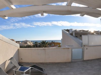 Photo for Appartamento Odisseo B: A cozy apartment situated at a few steps from a sandy beach, with Free WI-FI.