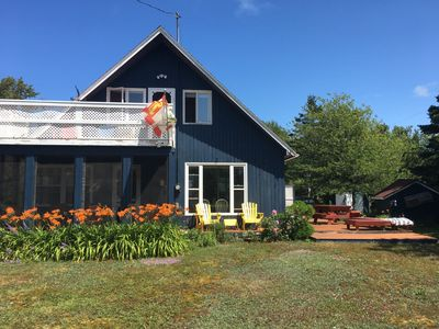 Photo for Cottage with water view in beautiful Blooming Point!