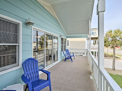 Photo for NEW! Holden Beach House w/ Grill - Steps to Beach!