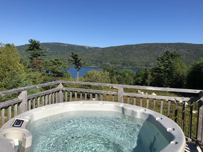 Photo for AIR CONDITIONING-Hot Tub-Fire Pit-View+Access to Somes Sound