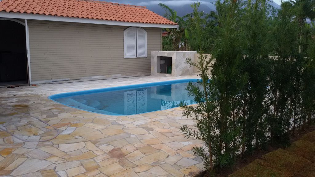 House With Swimming Pool And Air Conditioning In The Dormitories Barra Do Una State Of Sao