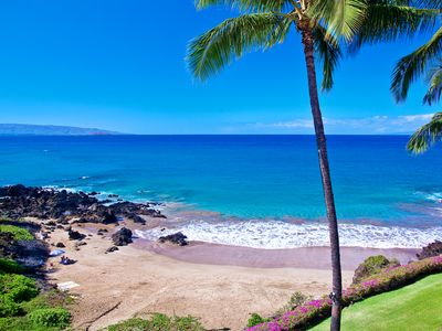 Photo for Turquoise Cove G301 at Makena Surf - Perched Above the Ocean!