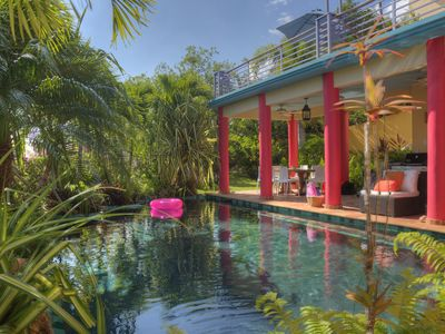 Photo for Gorgeous Spacious Home & Pool, Sumptuous Gardens & Caribbean Views