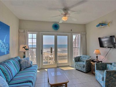 Photo for Top O Hatteras  OCEANFRONT Condo w/Elevator, Comm Pool