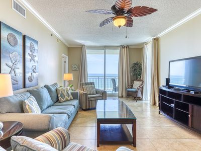 Photo for 5th Floor Charming, Open Condo, Views, Beach Chairs Included