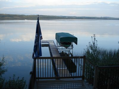 Photo for Private Lakefront Year Round Cabin