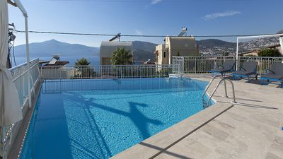 Photo for Villa Juliet A - 4 bedroom villa overlooking the bay of Kalkan