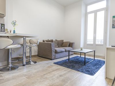Photo for Lovely 1BR apartment between Rue d'Antibes and the Croisette
