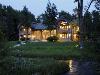 Photo for Enjoy Your Grand Teton Summer in this Masterful, Custom-Built Villa!
