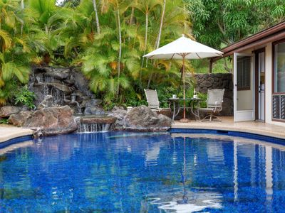 Photo for Akialoa Getaways: Deluxe Suite with amazing patio area!