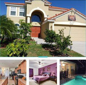 Photo for obriens Orlando villa Luxurious Pool Home with game room (9140)