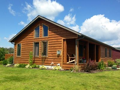 Photo for Americana Cabin @ Spring Brook Resort | Stunning Two Story | Ideal Family Getaway