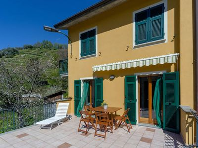 Photo for In the green backcountry of Chiavari, rural, cosy & quiet, 10 km to the beaches