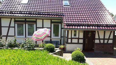 Photo for Nice comfortable cottage near the forest, Thür. Forest