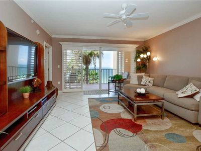 Photo for Tides Beach Club 5-354, 2 Bedroom, Sleeps 4, Gulf Front, 3 Pools, Spa, WiFi