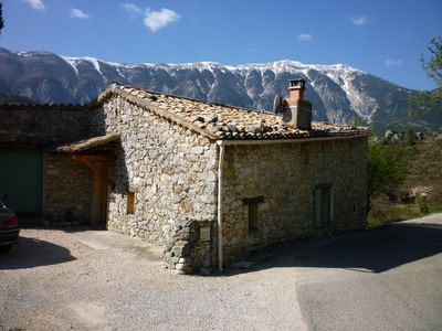 Photo for Charming house rental in Brantes, Northern Vaucluse, and Provence