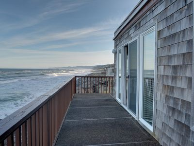 Photo for Perfect oceanfront condo in Neskowin for your secluded retreat to the coast!