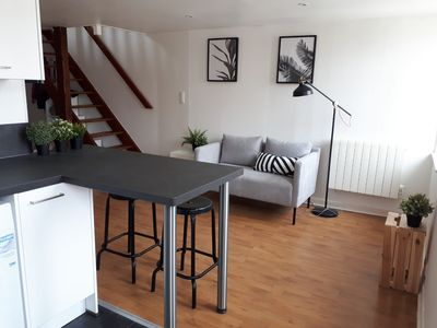 Photo for Beautiful 2 bedroom duplex in the center of Nancy