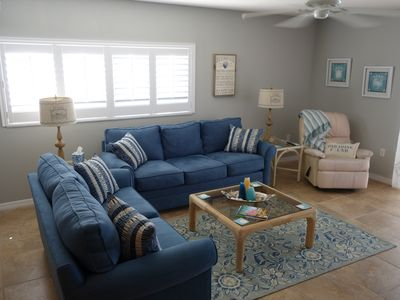 Photo for Beautiful Siesta Key, Private Beach..2/2 Condo.Newly updated. 2 month minimum.