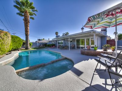 Photo for Vintage Gem - Walk to Strip Spacious 3BR w/pool