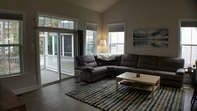 The great room -- lots of space for your entire group to relax