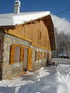 Photo for Rental 12 people in Haute-Savoie, near several ski areas