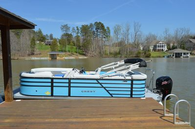 Optional Boat Rental 20' Crest 200L with 115HP Engine $300 a day or $1500 a week