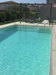 Photo for Studio Seaside with swimming pool