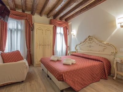Photo for APARTMENT BY CANAL GRANDE IN THE HEART OF VENICE