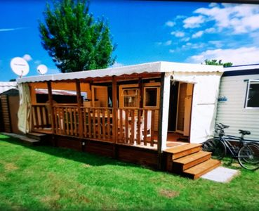 Photo for Luxury mobile home in the charmettes