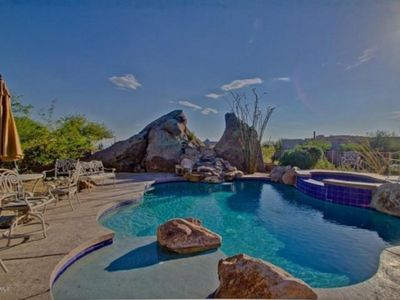 Photo for LUXURY ESTATE HEATED POOL/ SPA BY TROON  GOLF GREAT VIEW