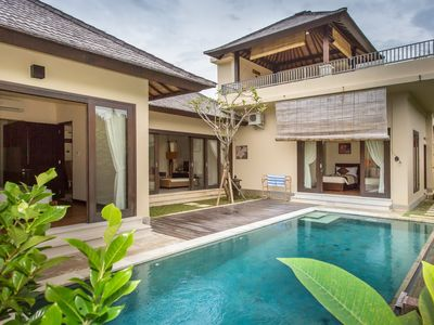 Photo for 2 Bedroom Villa with 180 Degrees View near Uluwatu