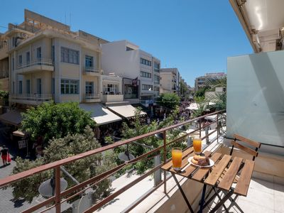 Photo for Heraklion's Heart - Two Bedroom Apartment, Sleeps 6