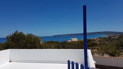 Photo for House with garden, sea view and free Wi-Fi