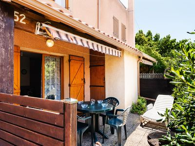 Photo for MM52 : 2-bedroom villa with terrace NARBONNE-PLAGE