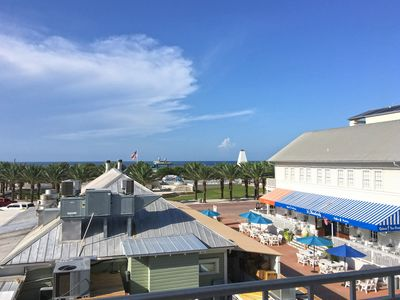 Photo for In the heart of SEASIDE - 2 Bedroom - Rooftop views of gulf and town