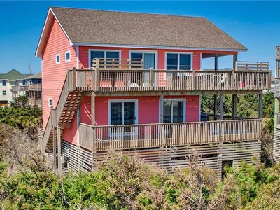 Photo for Mesmerizing Oceanfront Views Avon! Cmty Beach Boardwalk, Hot Tub, Klub Koru Gold