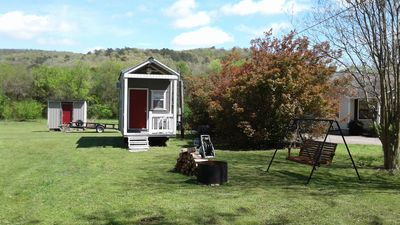 Photo for The Tiny House Experience 6 m North of Mnt. View Ark. on N. Riverview  Rd Cr 186