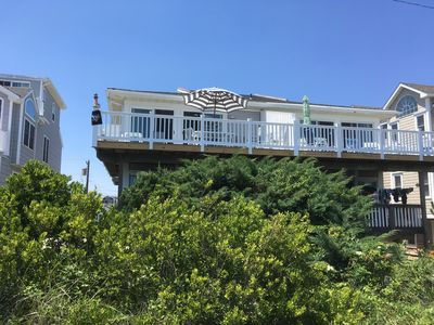 Photo for Oceanfront Townhouse -Wk of 6/29-7/6 Open-Families-Beach Tags-Bikes-Chairs
