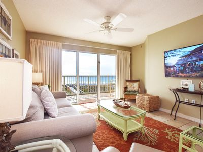 Photo for Beachfront View from 3rd Floor, Sleeps 10, Easy access to Pool and Beach - gd202