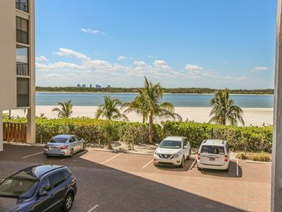 Photo for Direct Beachfront Condo At Island End