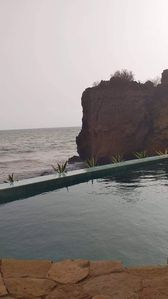 Photo for Dream house by the sea with jacuzzi overlooking pool