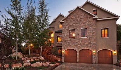 Photo for Luxury in the Mountains!  Family reunion vacation home Park City