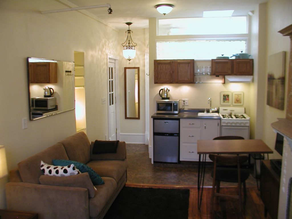 Charming light filled studio in historic brooklyn - 2 bedroom apartments for rent in nyc 1200 ...