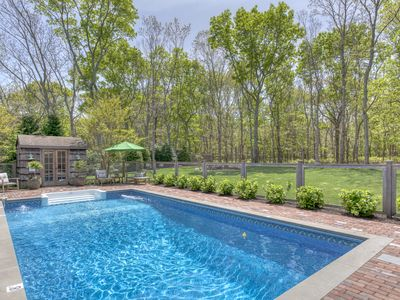 Photo for Family and Pet Friendly Ranch. Gated Heated Pool and AC. Walk to the Village.